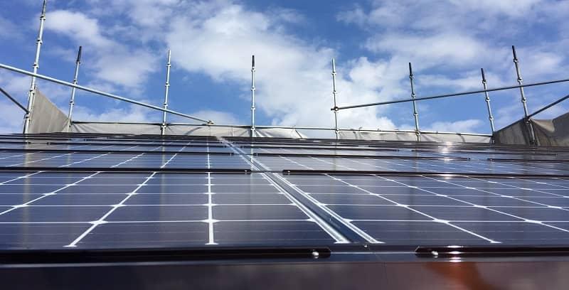 自宅の太陽光パネル
