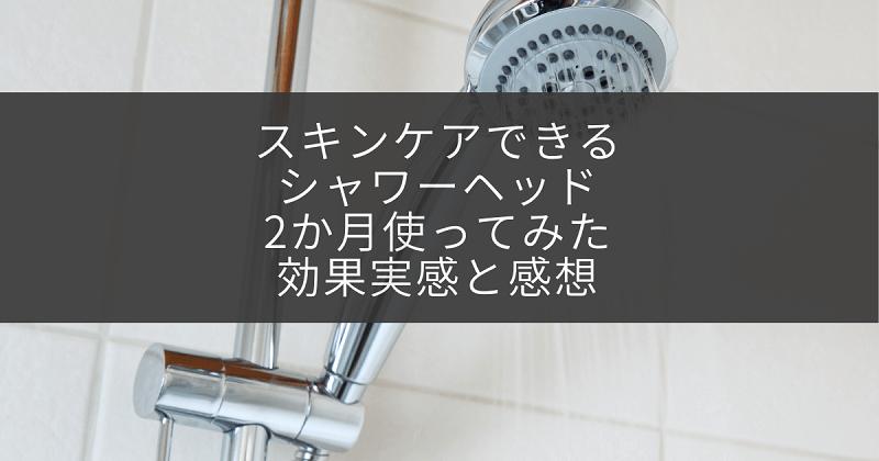 シャワーヘッドのアイキャッチ